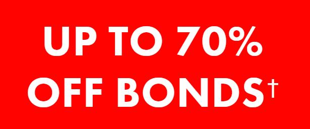 Bonds Outlet Header Image