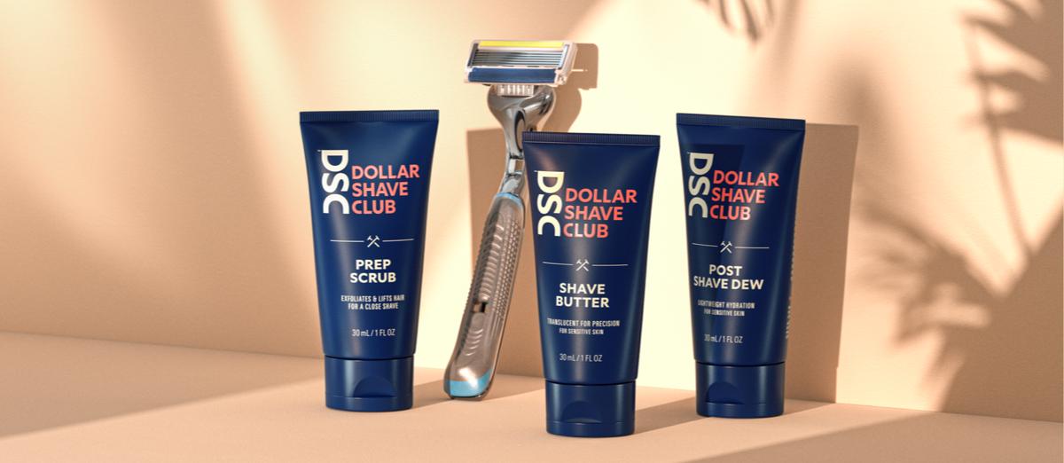Dollar Shave Club Header Image
